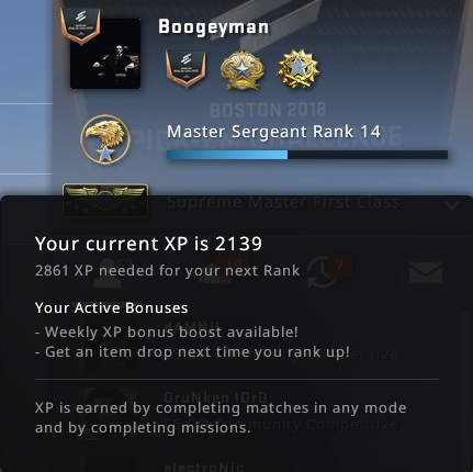 Private Ranking System