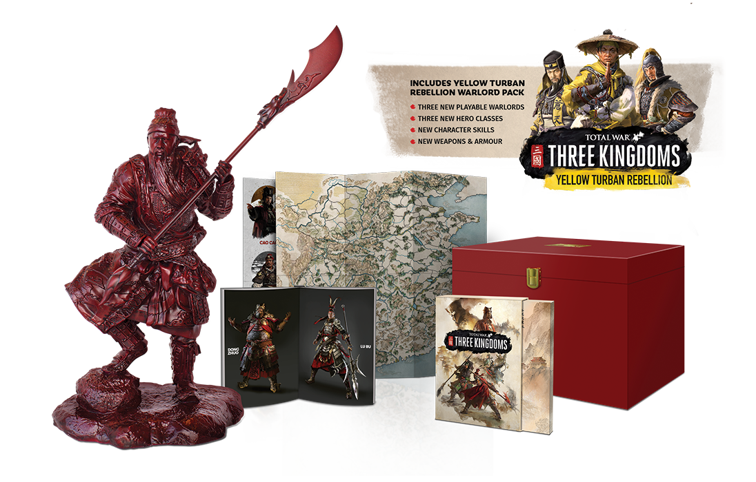 Total War Three Collector's Edition