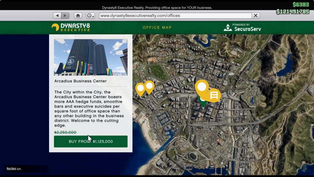 Arcadius Business Center: $2.25 million
