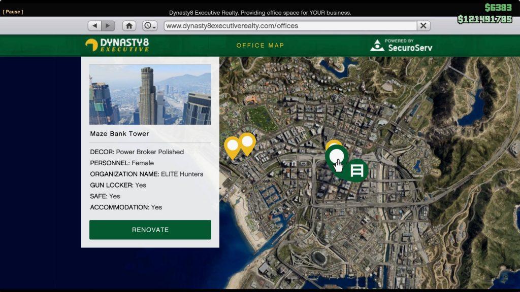 Maze Bank Tower: $4 million
