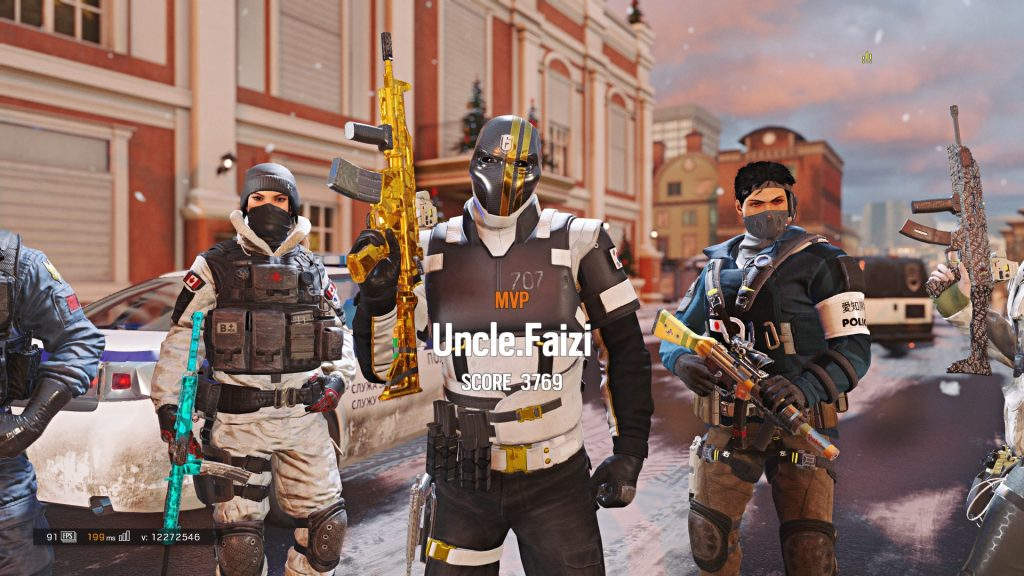 Queue with your squad