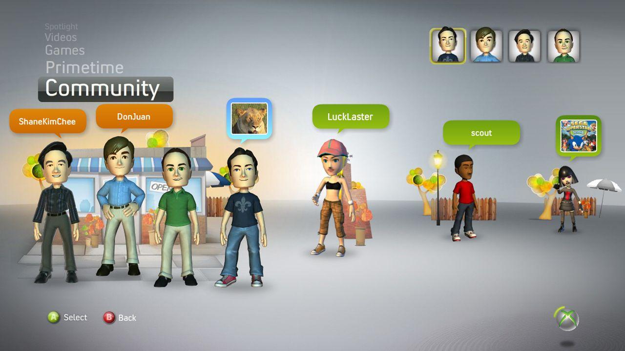 Xbox 360 Avatars