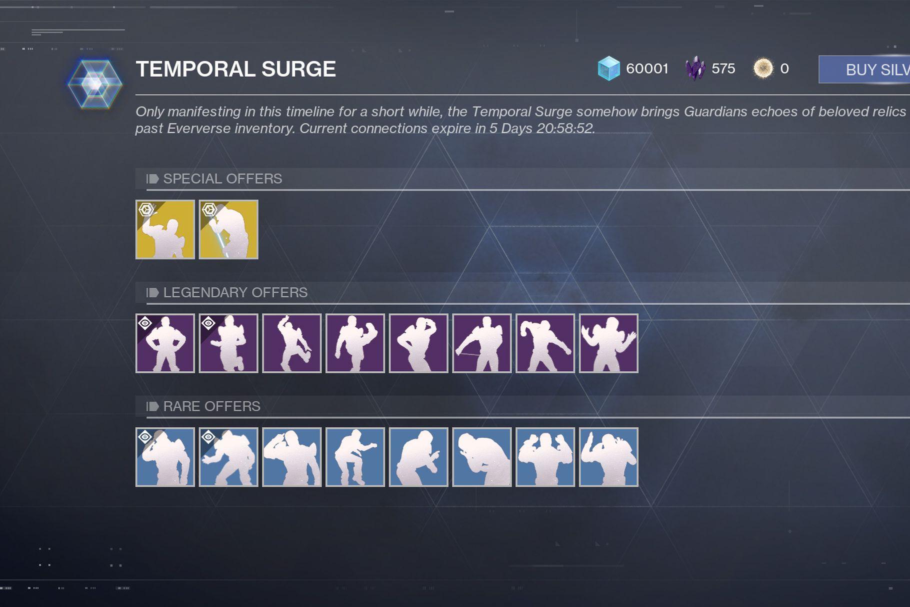 Temporal Surge, Destiny 2
