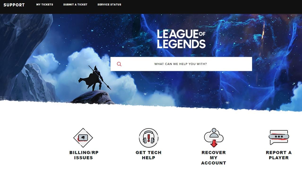 League of Legends critical error