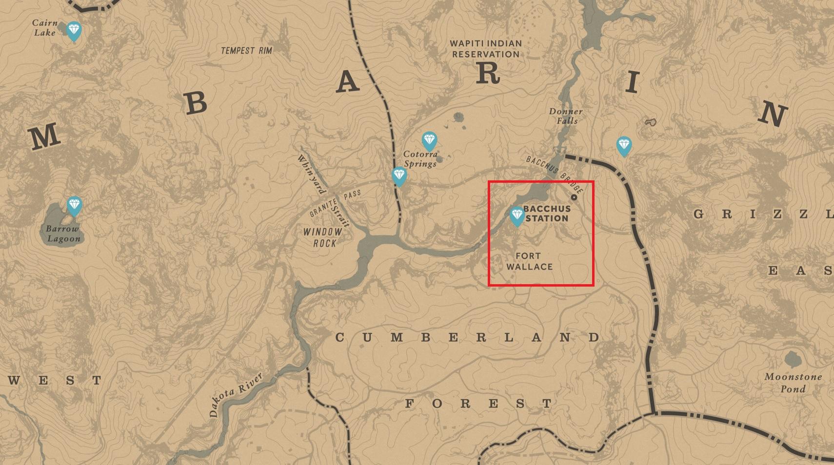 High Stake Treasure Map