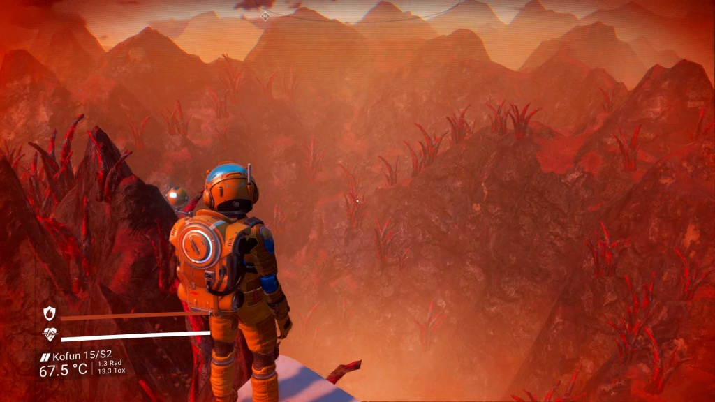 Sandworms and Tornadoes in No Man's Sky