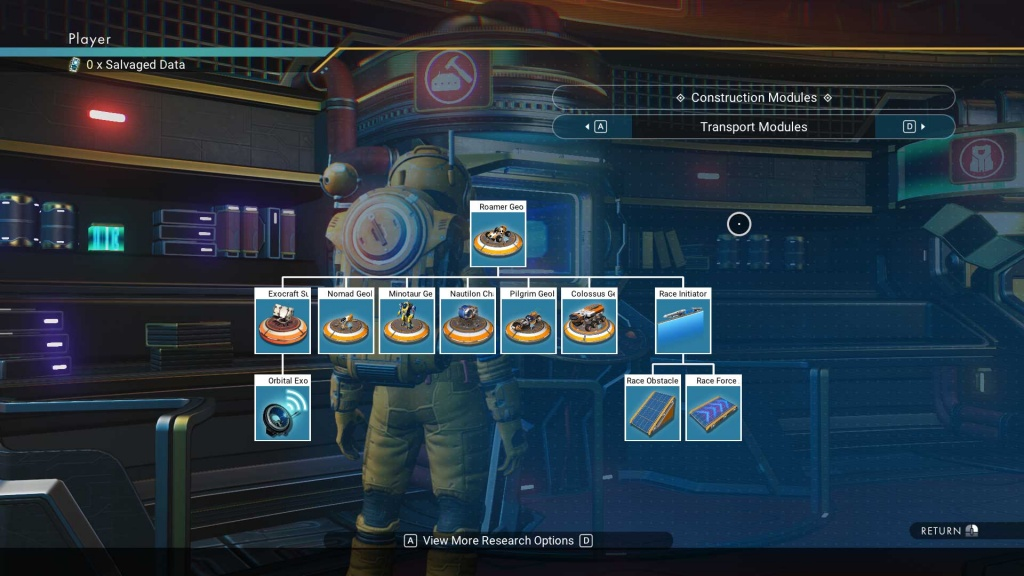 How to Unlock Exocrafts in No Man's Sky
