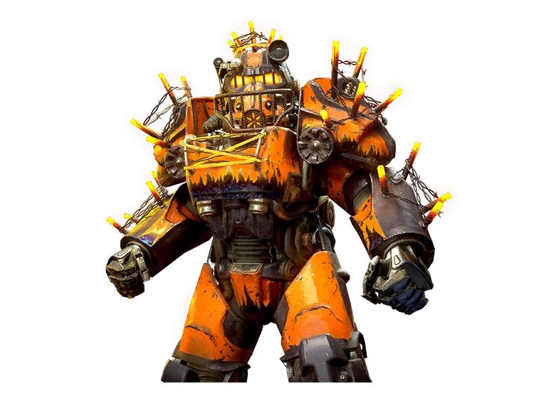 Inferno Mark 3 Power Armor Paint Set