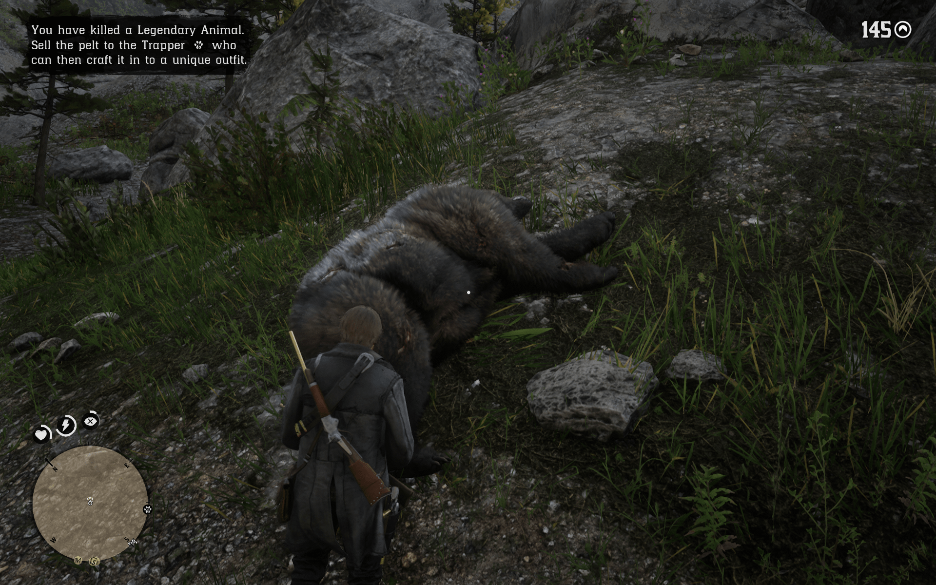 rd2 legendary bear