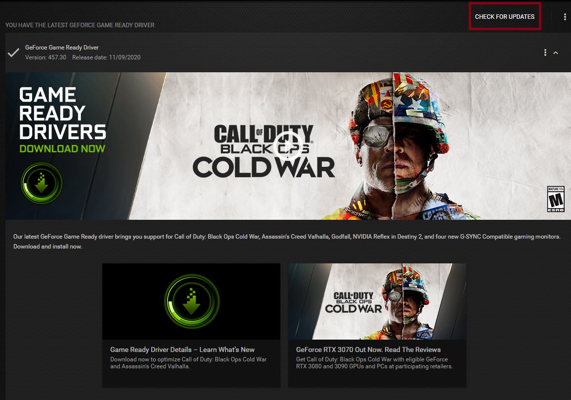 call of duty black ops cold war pc settings