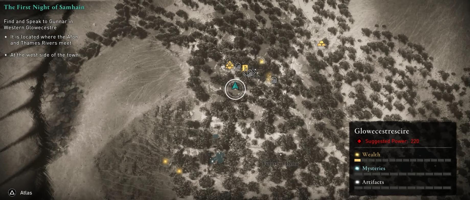 Assassin's Creed Valhalla Abilities Upgrade Locations