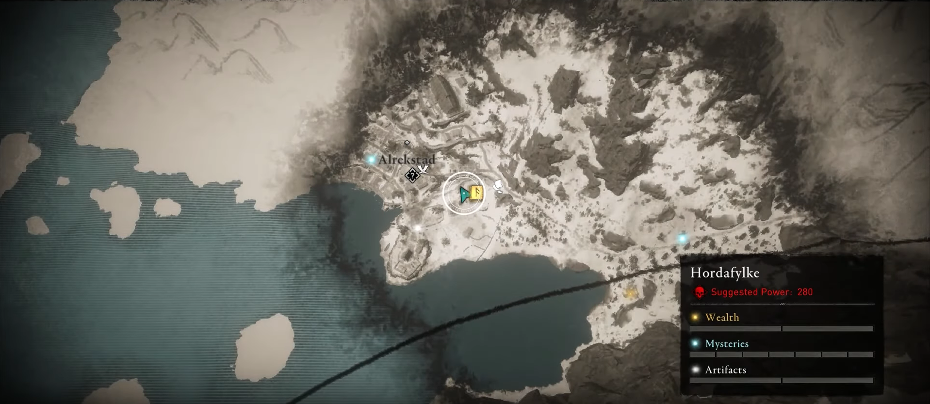 Assassin's Creed Valhalla Abilities Locations