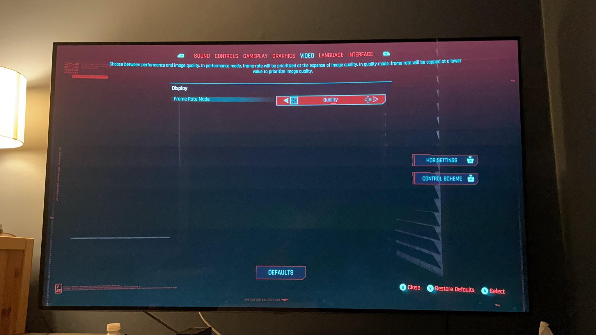 Cyberpunk 2077 Quality Mode