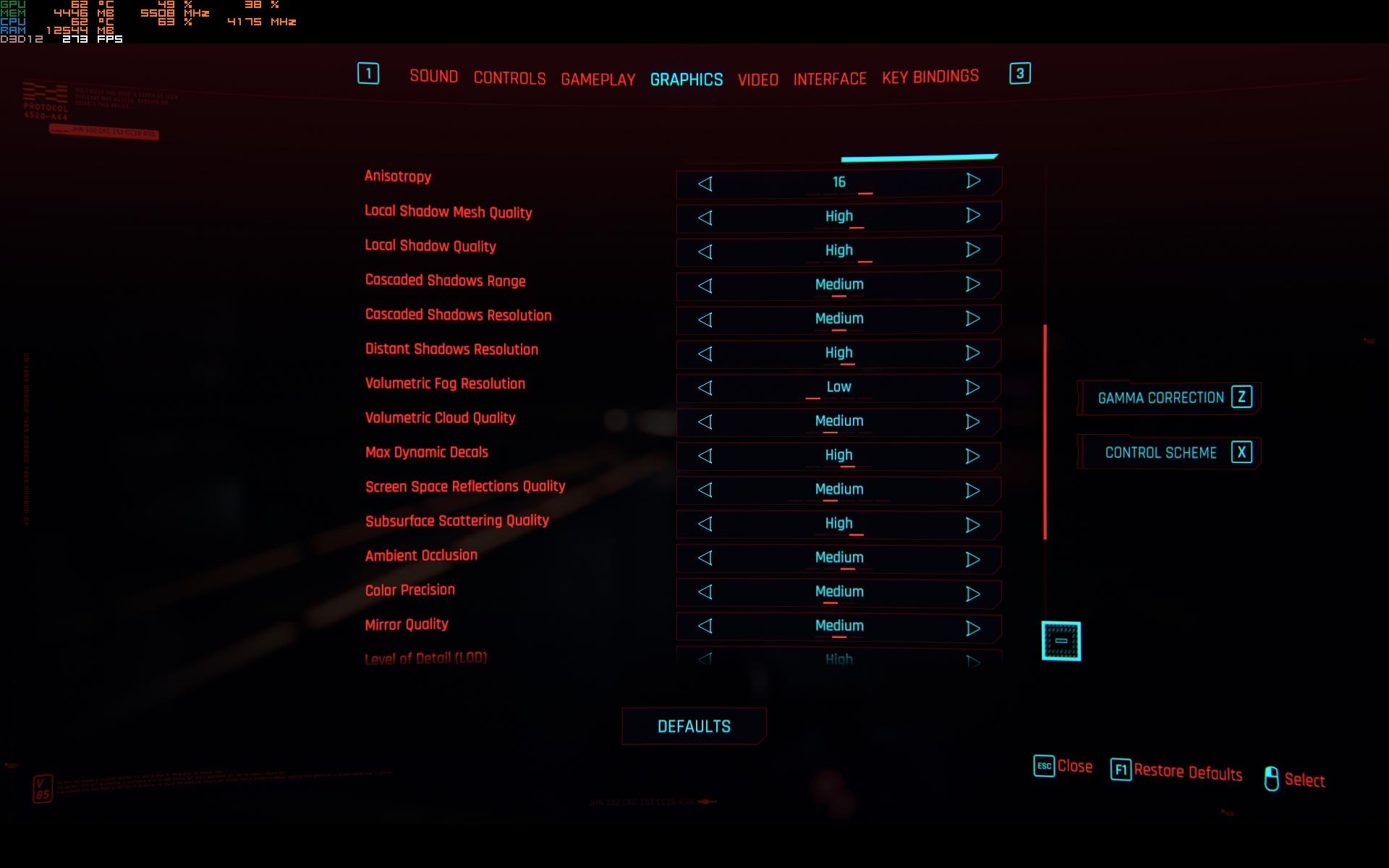 Best Cyberpunk 2077 Graphics Settings