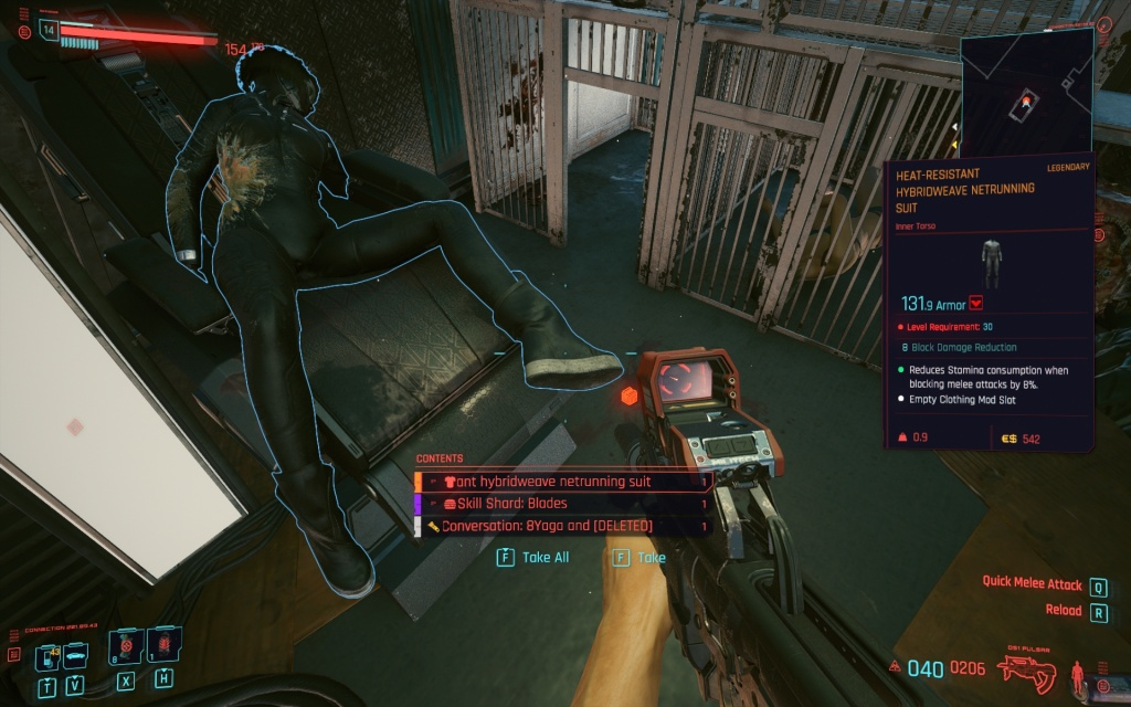 legendary clothes cyberpunk 2077