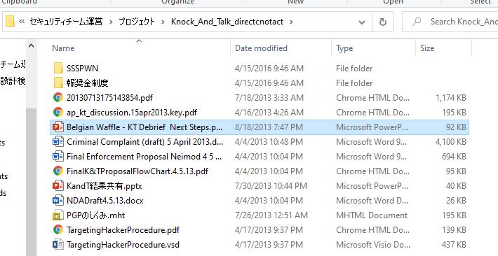 Document Leak