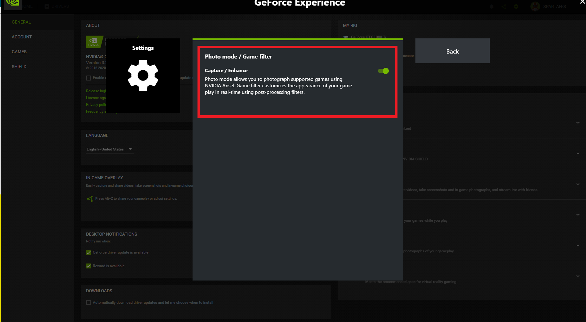 Nvidia Settings For Cyberpunk 2077
