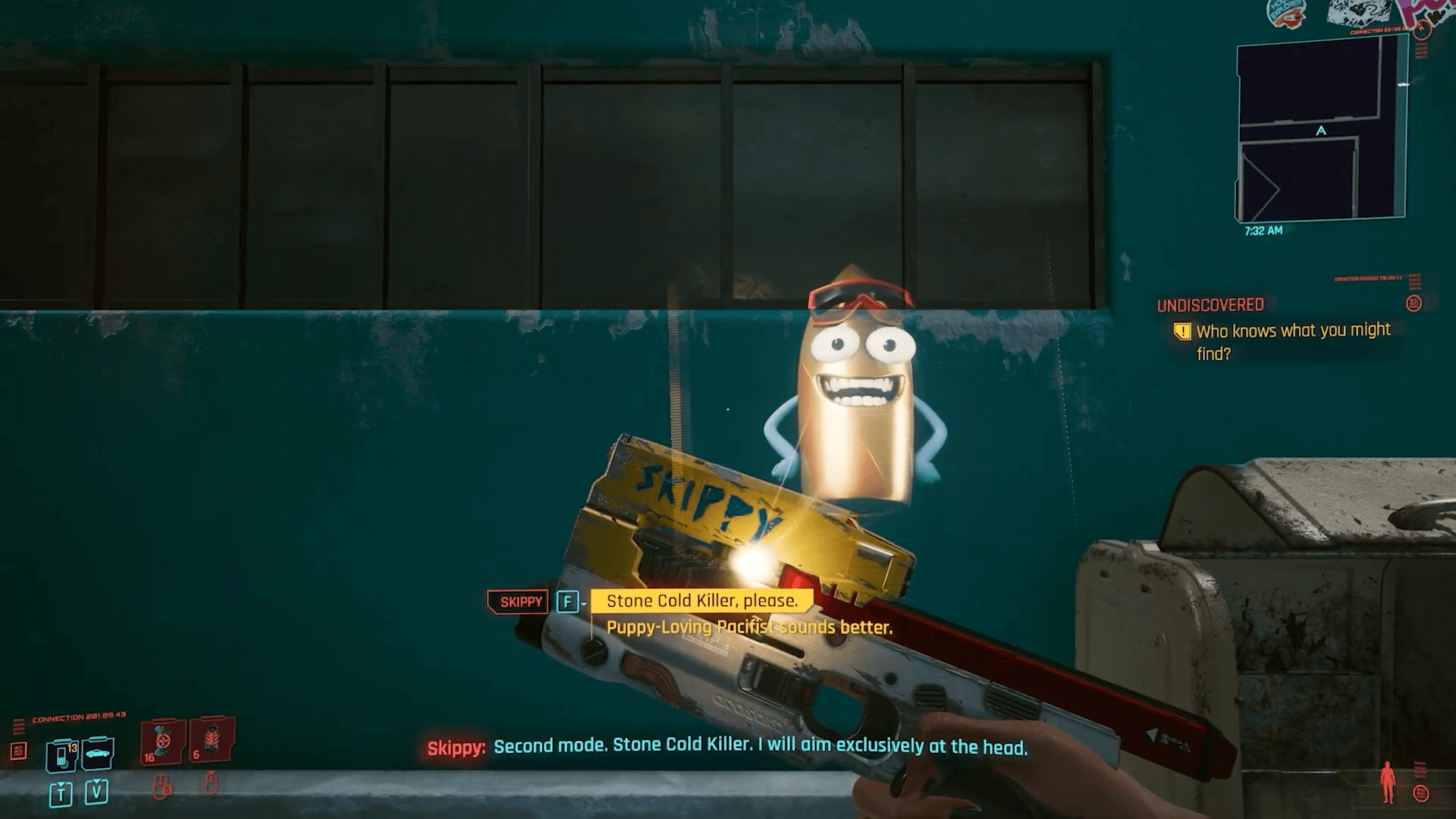 Cyberpunk 2077 skippy location