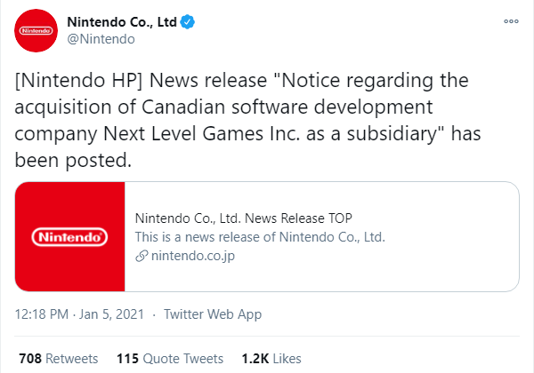 Nintendo Makes It Official (Translated)