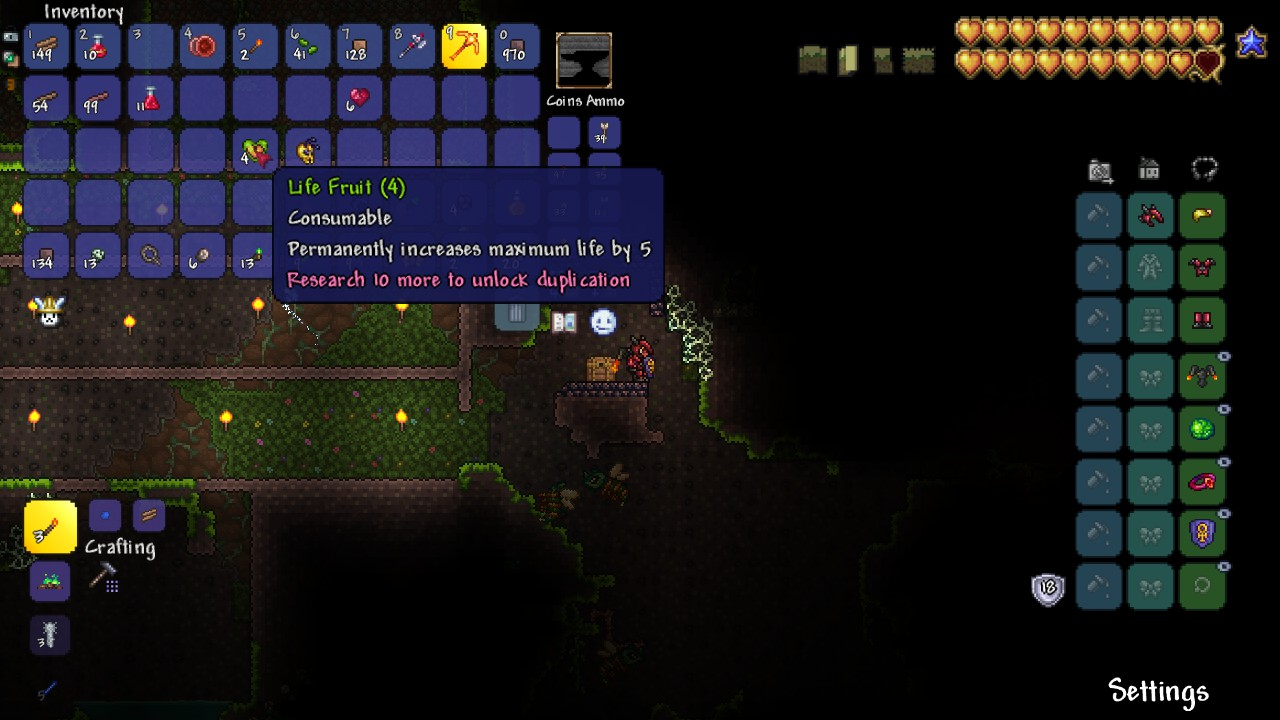 Terraria Life Fruit