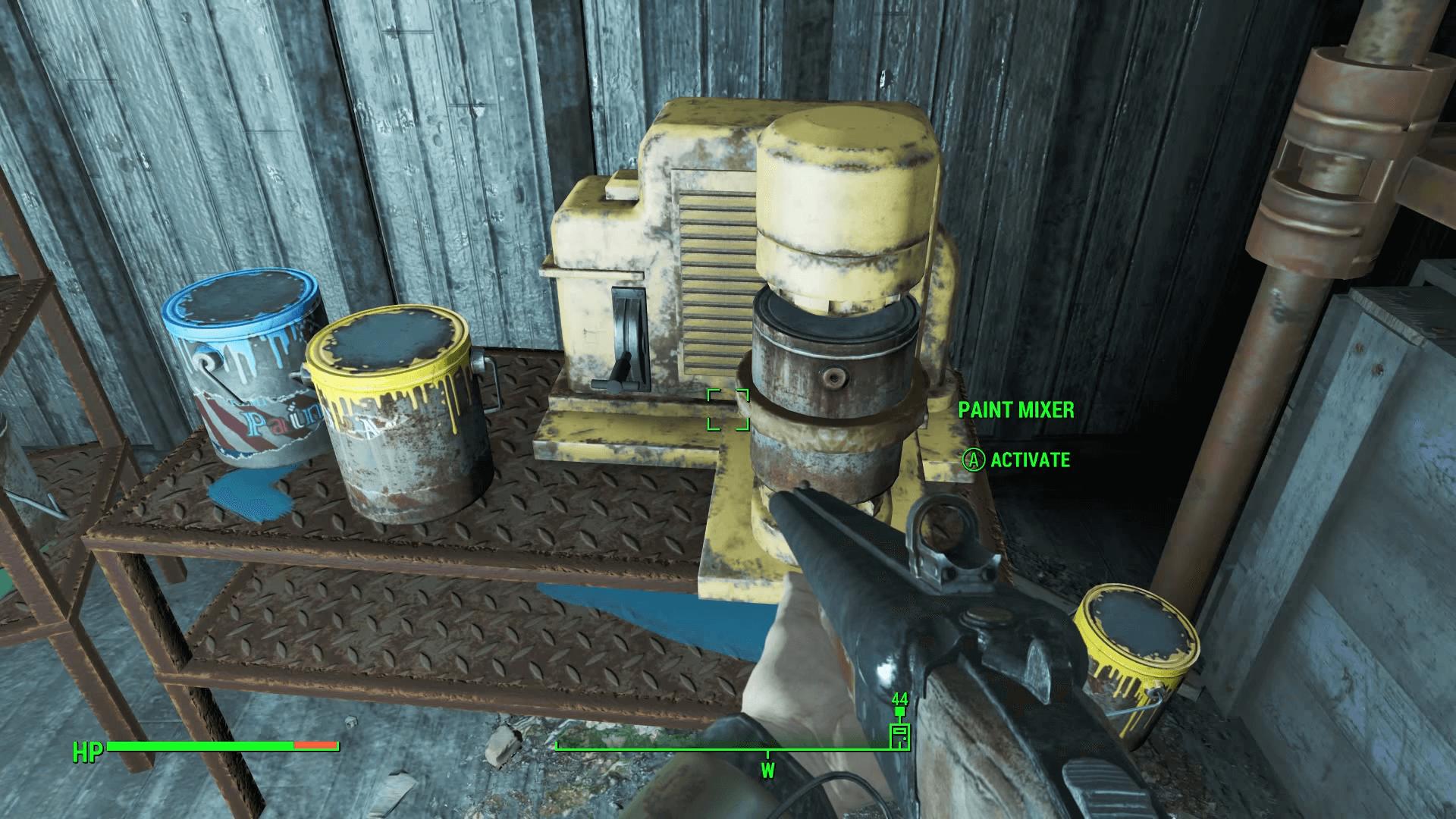 Fallout 4 oil