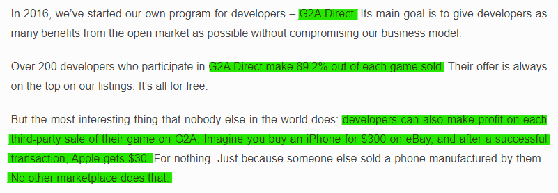 G2A Interview 2021