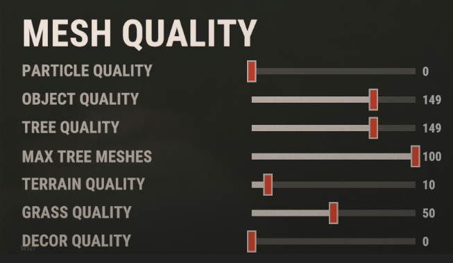 best rust settings