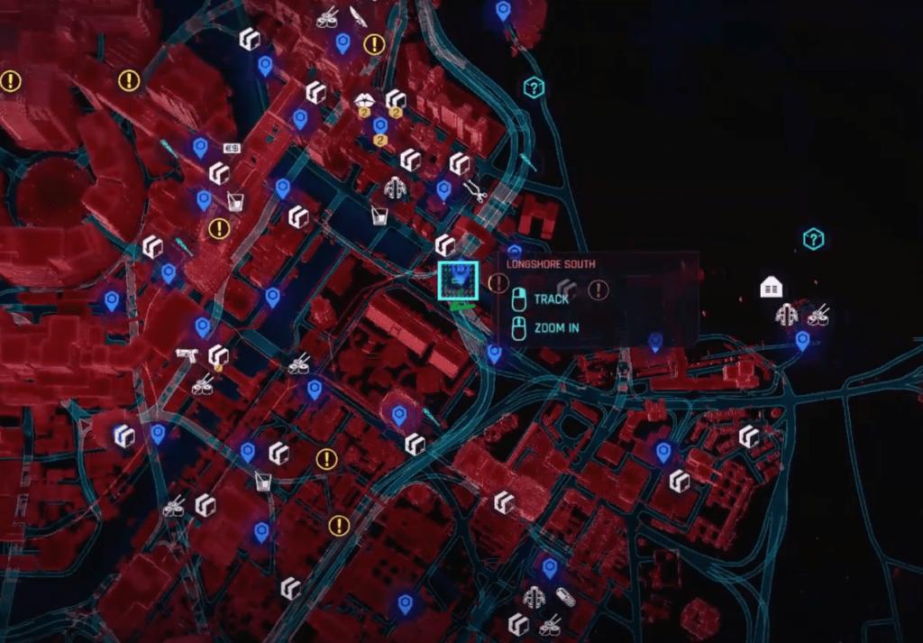Legendary Weapons Locations Cyberpunk 2077