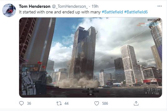 Tom Henderson on Twitter