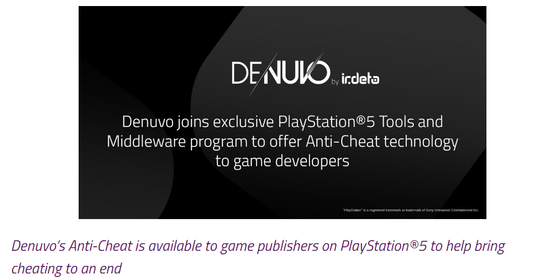 Denuvo's Official Blog Post