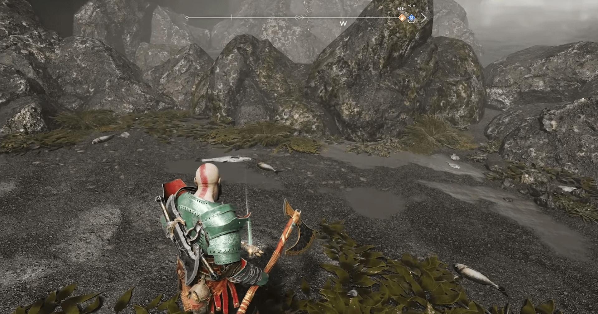 God of War Treasure Map