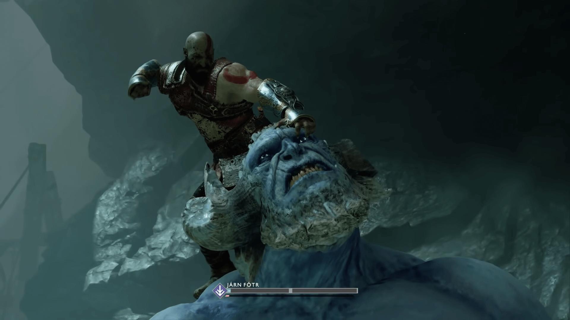 God of War frozen flame