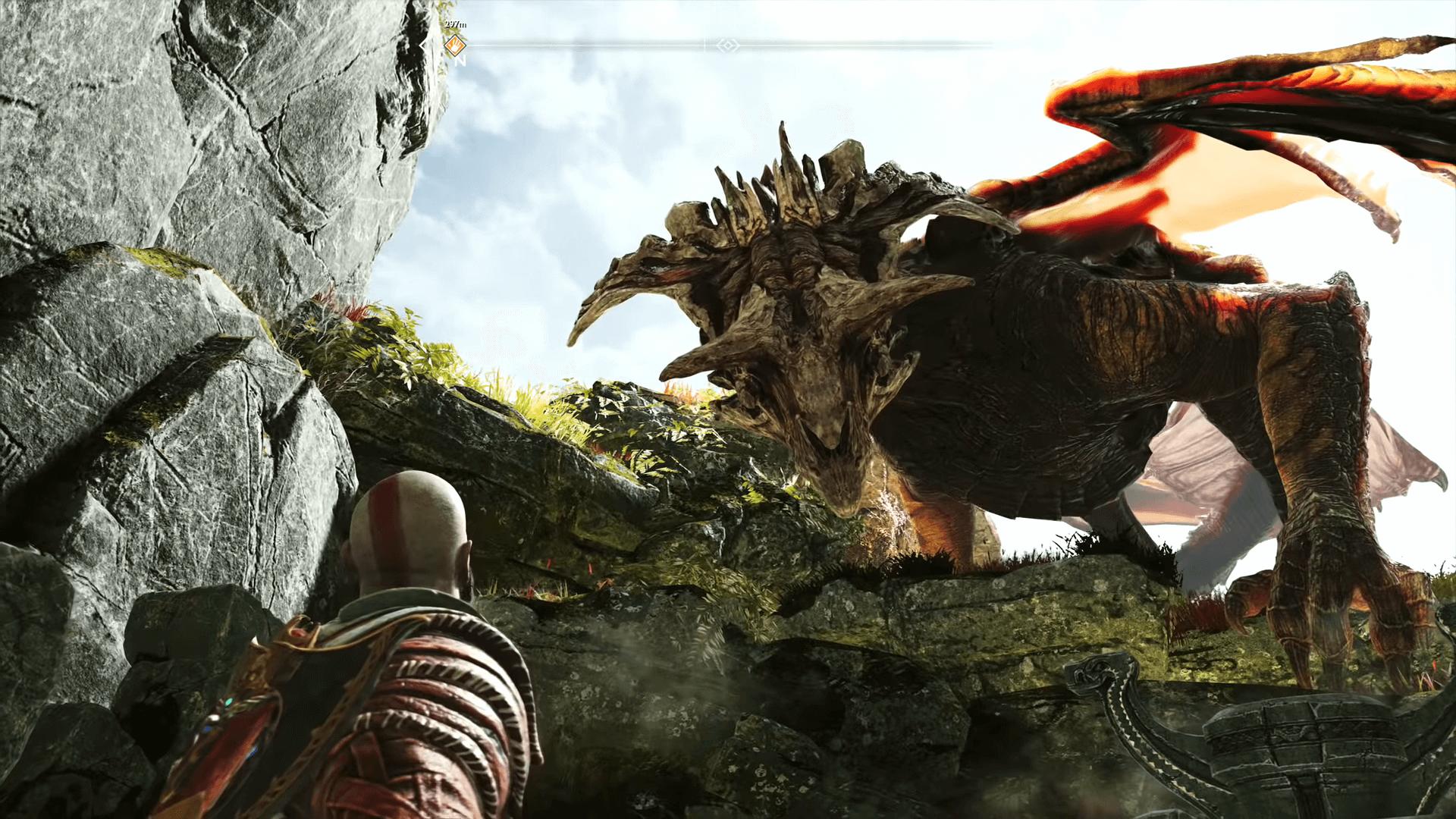 God of War Dragon Tear