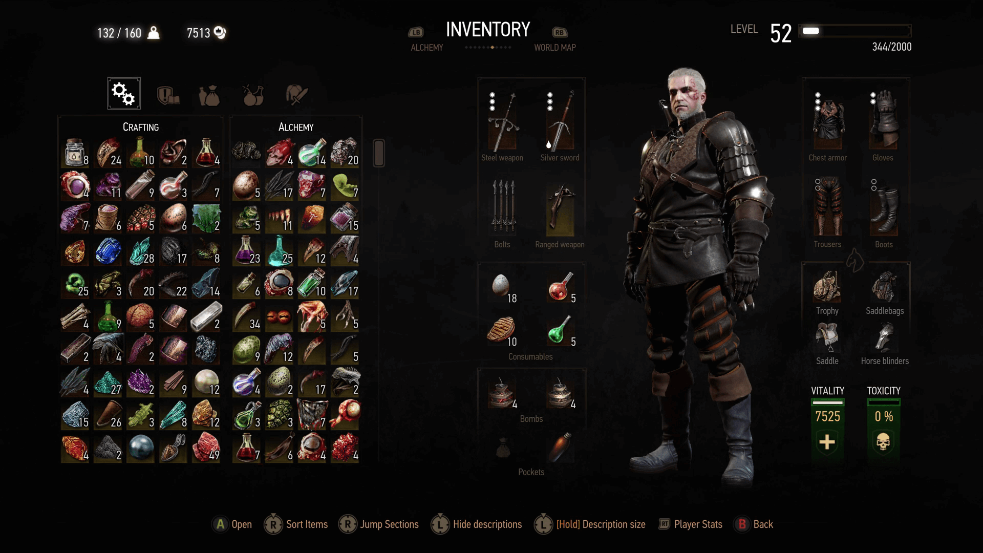 WItcher 3 Powdered Monster