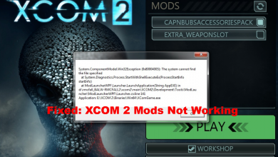 XCOM 2 Mods Not Working