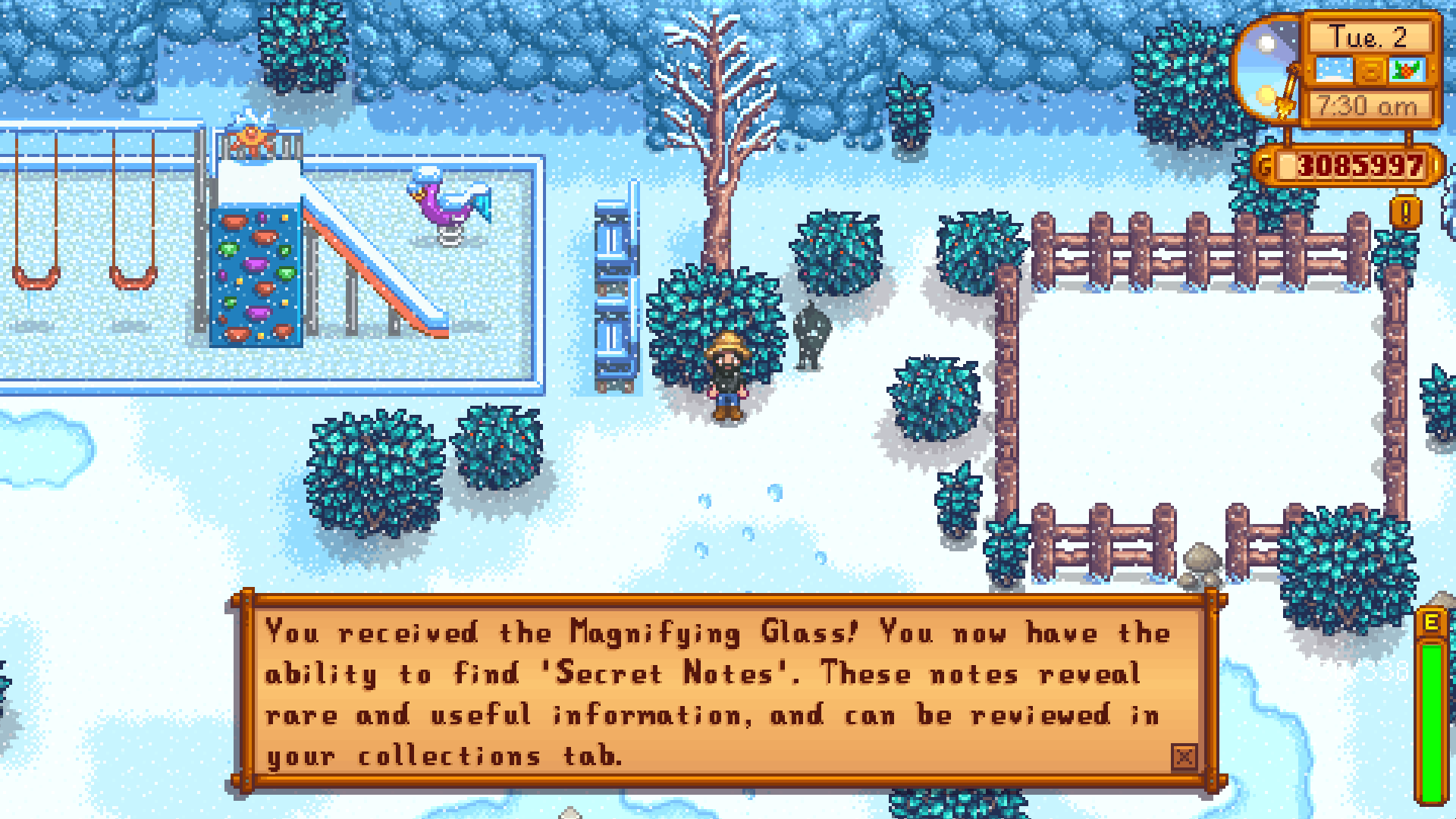 A Winter Mystery Stardew Valley