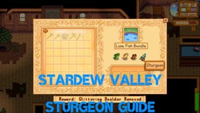 Stardew Valley Sturgeon