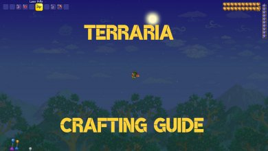 Terraria Crafting