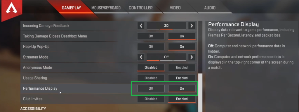 How Show FPS In Apex Legends