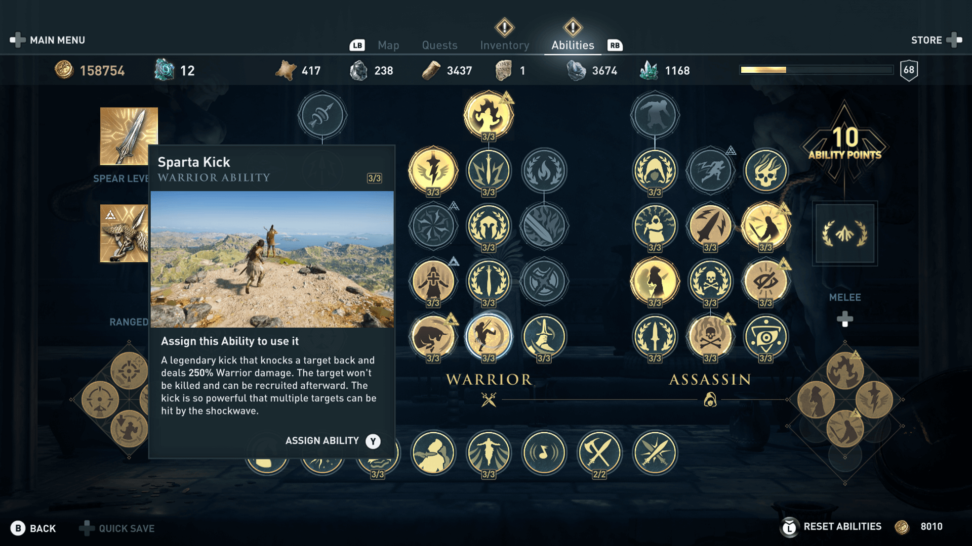 Assassin's Creed Odyssey Best Abilities