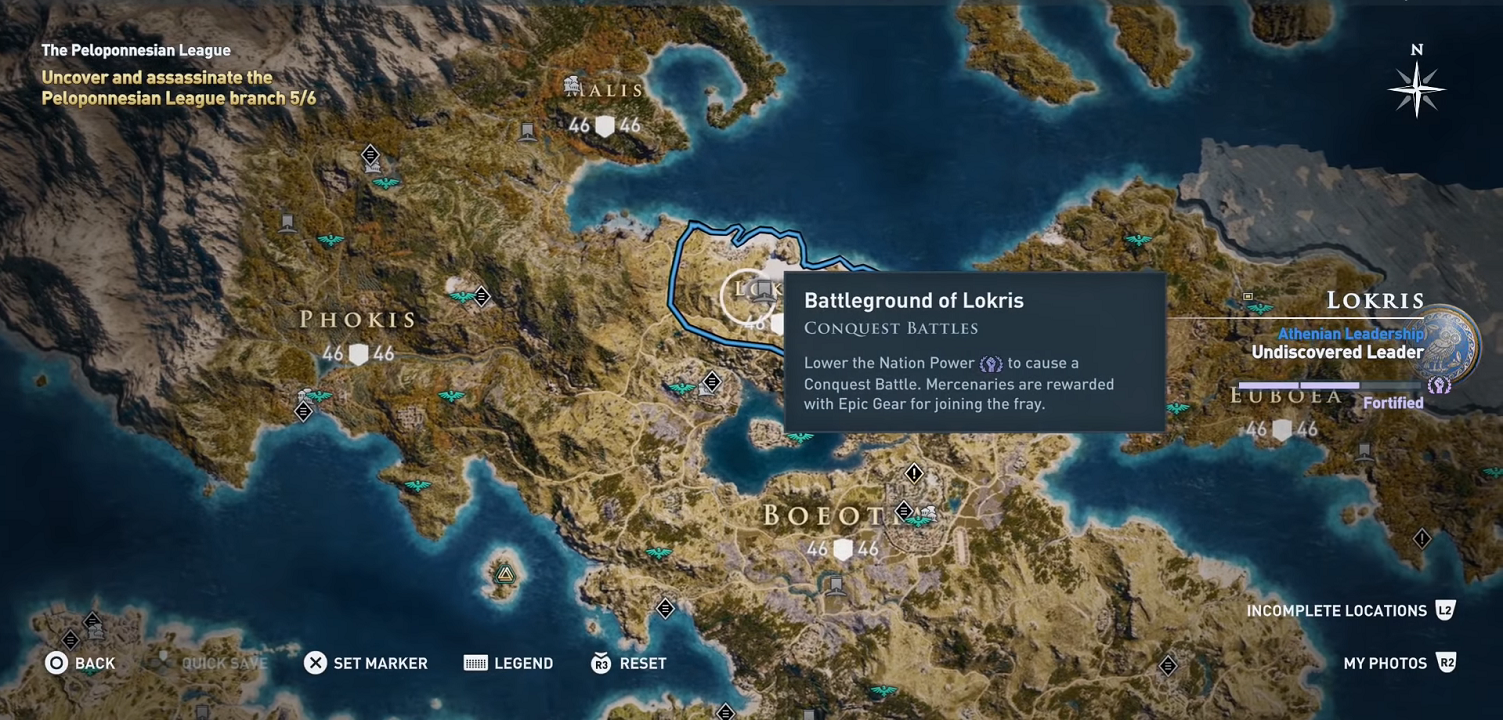 Assassin's Creed Odyssey Lokris Fort