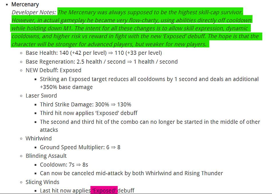 risk of rain 2 mercenary