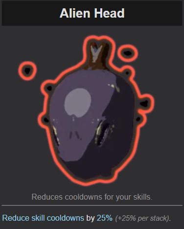 Risk of Rain 2 Alien Head