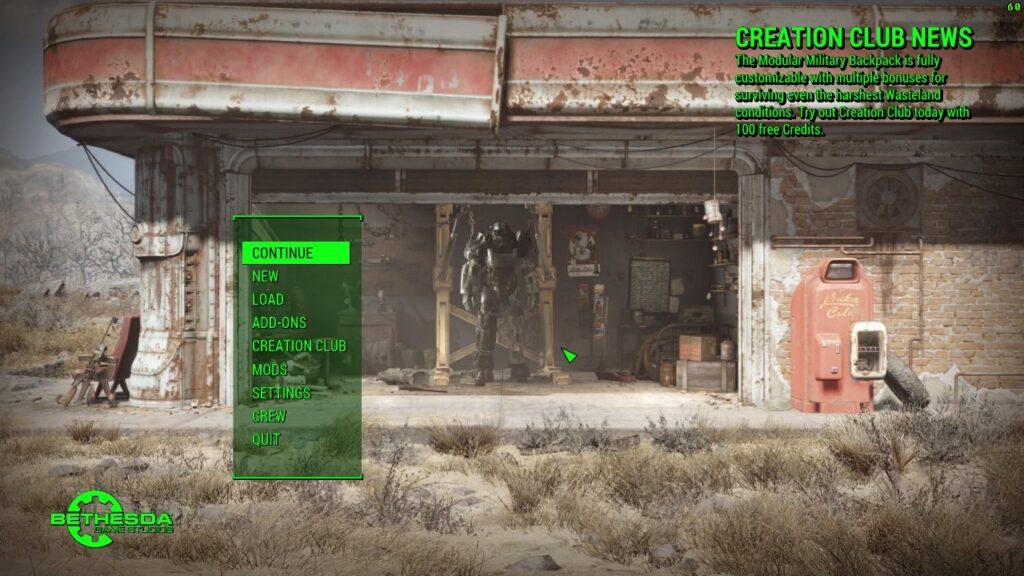 Fallout 4 Black Screen Fix - Remove Mods