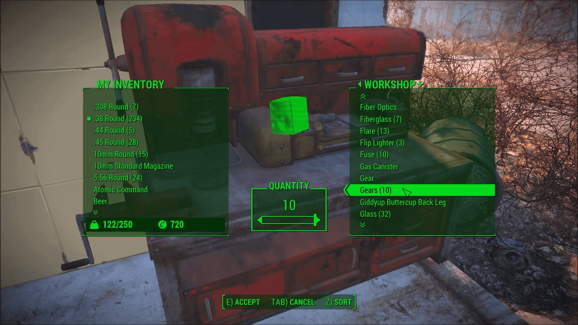 Fallout 4 Gears