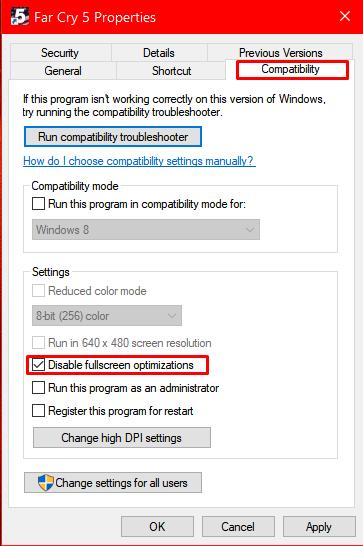 Overwatch Crashing on Startup - Disable Fullscreen Optimizations.