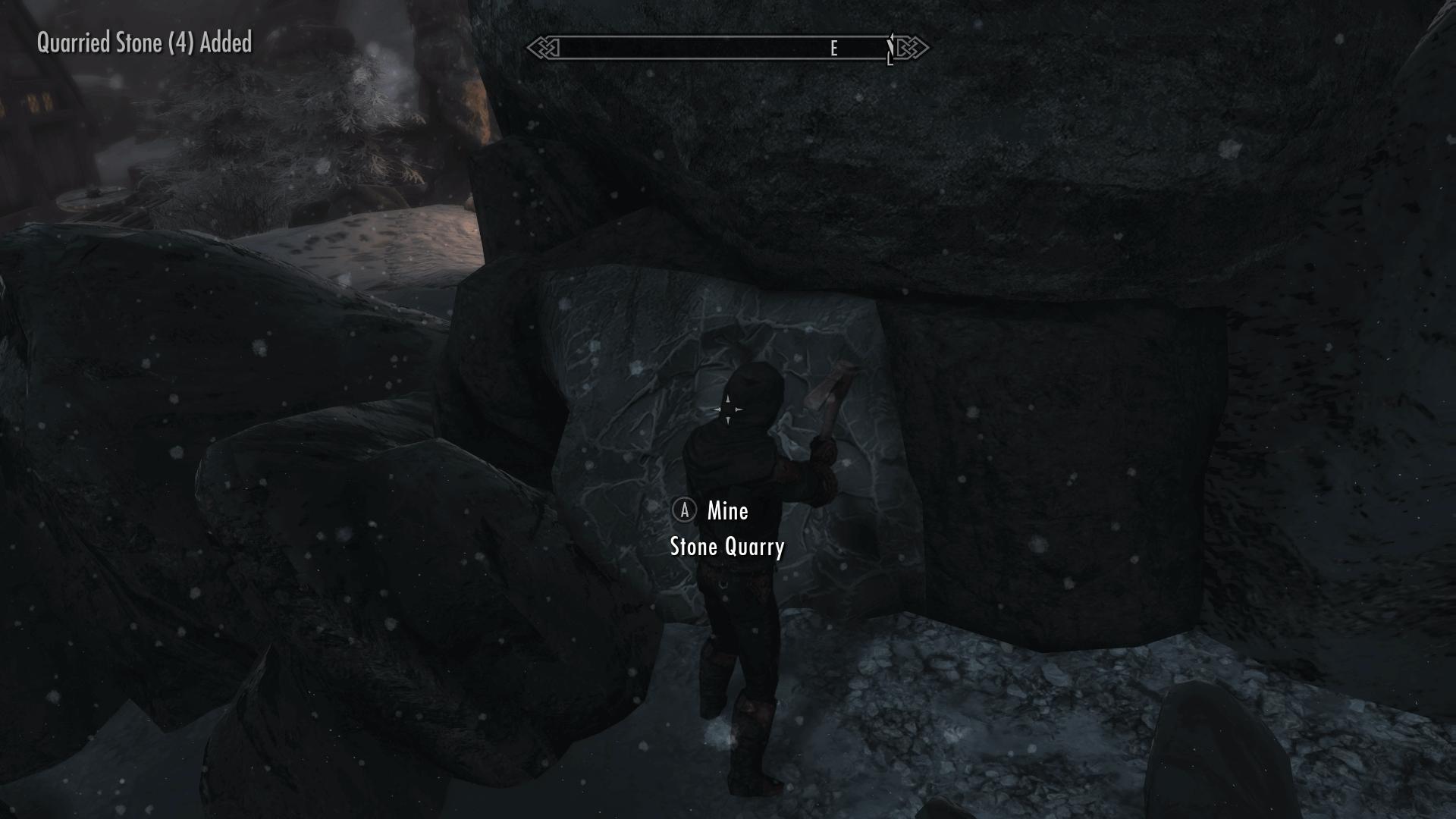 Skyrim Quarried Stone