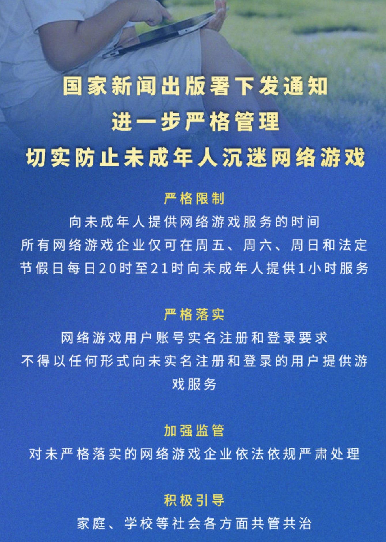 China Gaming Restriction