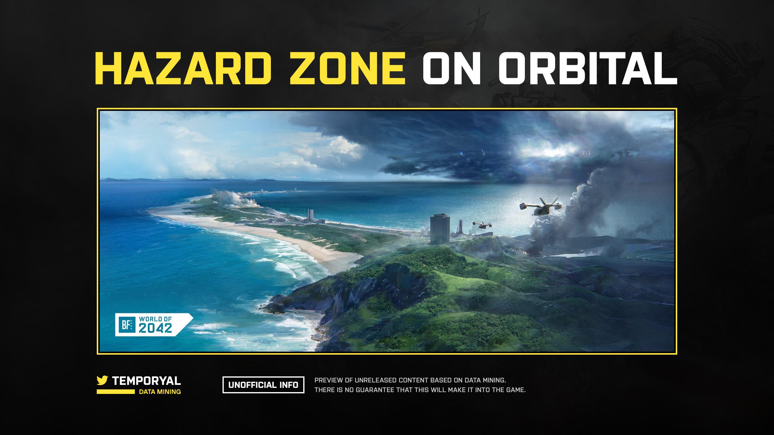 Hazard Zone Mode on a Battlefield Map