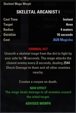 ESO Necromancer Build